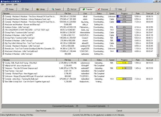Image from https://upload.wikimedia.org/wikipedia/it/6/62/Napster_2.0_Beta_7_screenshot.png