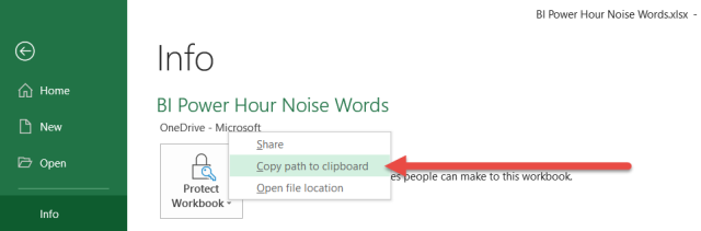 Power Query: Connecting to Excel Workbooks in SharePoint