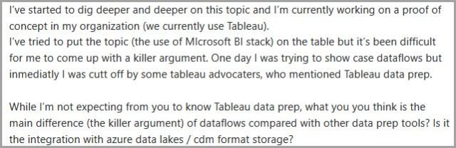 choosing tool comment